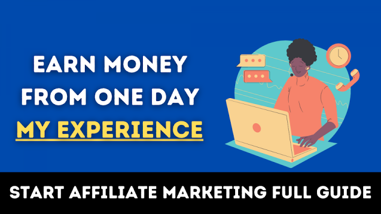 how to start affiliate marketing in 2021 and earn money