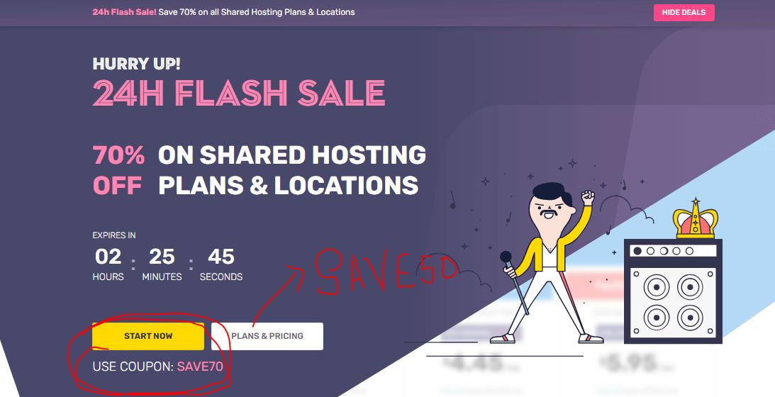 fastcomet hosting discount